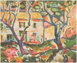 Живопись   Жорж Брак   Дом за деревьями, 1906