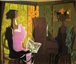 Живопись   Жорж Брак   Дуэт, 1937