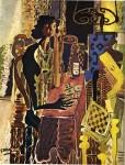 Живопись   Жорж Брак   Пасьянс, 1942