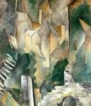 Живопись   Жорж Брак   Церковь Карьер-Сен-Дени, 1909