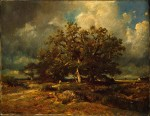 Живопись | Жюль Дюпре | Старый дуб, 1870