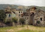 Живопись | Исаак Левитан | Близ Бордигеры. На севере Италии, 1890