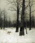 Живопись | Исаак Левитан | Зимой в лесу, 1885