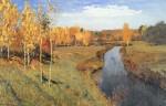 Живопись | Исаак Левитан | Золотая осень, 1895