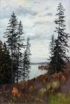 Живопись | Исаак Левитан | На севере, 1896