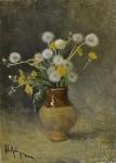 Живопись | Исаак Левитан | Одуванчики, 1889