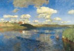 Живопись | Исаак Левитан | Озеро. Русь, 1899-1900