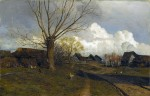 Живопись | Исаак Левитан | Саввинская слобода под Звенигородом, 1884