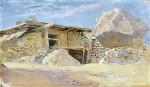 Живопись | Исаак Левитан | Сакля в Алупке, 1886