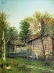 Живопись | Исаак Левитан | Солнечный день. Весна, 1876-77