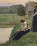 Живопись | Михаил Нестеров | Думы, 1900