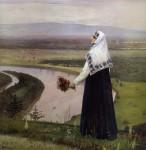 Живопись | Михаил Нестеров | На горах, 1896