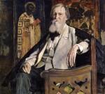 Живопись | Михаил Нестеров | Портрет Виктора Васнецова, 1925
