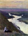 Живопись | Михаил Нестеров | Река Уфимка, 1935