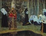 Живопись | Михаил Нестеров | Сказание о невидимом граде Китеже, 1917-22
