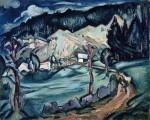 Живопись | Отон Фриез | Вогезы, 1919