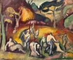 Живопись | Отон Фриез | Осенние работы, 1907