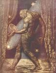 Живопись | Уильям Блейк | Призрак ничтожества, 1820
