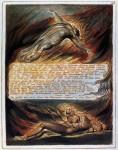 Живопись | Уильям Блейк | Сошествие Христа, 1804-20