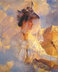 Живопись | Фрэнк Уэстон Бенсон | Напротив неба, 1906