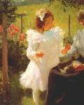 Живопись | Фрэнк Уэстон Бенсон | Солнечный свет, 1902
