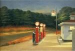 Живопись | Эдвард Хоппер | Автозаправка, 1944