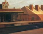 Живопись | Эдвард Хоппер | Железная дорога, 1908