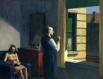 Живопись | Эдвард Хоппер | Отель у железной дороги, 1952