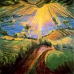 Живопись | Эрих Хеккель | Весна, 1918