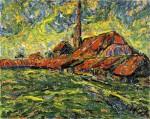 Живопись | Эрих Хеккель | Кирпичный завод, 1907