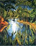 Живопись | Эрих Хеккель | Озеро, 1914