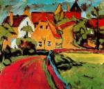 Живопись | Эрих Хеккель | Саксонская деревня
