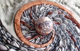 Андреас Кунерт и Наоми Зеттл – каменная мозаика