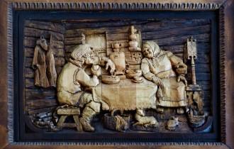 Кронид Гоголев. Деревянные Картины