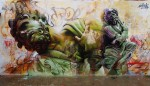 Стрит-арт | Пичи и Аво | Vicar Wall