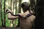 Фотография | Мария Субботина | Со змеей