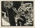 Гравюра | Карл Шмидт-Ротлуф | Чудесный улов рыбы, 1918