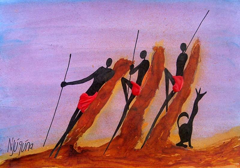 Бернард Ндиху Нджугуна: назад к истокам