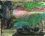 Живопись | Вячеслав Евдокимов | Пейзаж со скульптурой, 1997