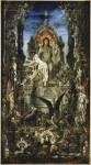 Живопись   Гюстав Моро   Юпитер и Семела, 1894-95