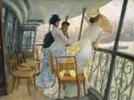 Живопись | Джеймс Тиссо | Галерея военного корабля «Калькутта» (Портсмут), 1877