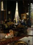 Живопись | Джеймс Тиссо | Прятки, 1877