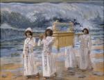 Живопись | Джеймс Тиссо | The Ark Passes Over the Jordan, 1896-1902