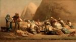 Живопись | Жан-Франсуа Милле | Жнецы на отдыхе, 1850-53