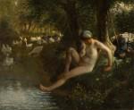 Живопись | Жан-Франсуа Милле | The Goose Girl, 1863