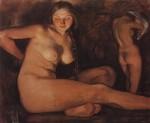 Живопись | Зинаида Серебрякова | Баня, 1926