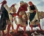 Живопись | Зинаида Серебрякова | Беление холста, 1917