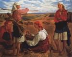 Живопись | Зинаида Серебрякова | Жатва, 1915