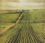 Живопись | Зинаида Серебрякова | Зеленя осенью, 1908