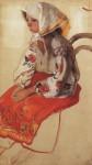 Живопись | Зинаида Серебрякова | Крестьянская девочка, 1905-06